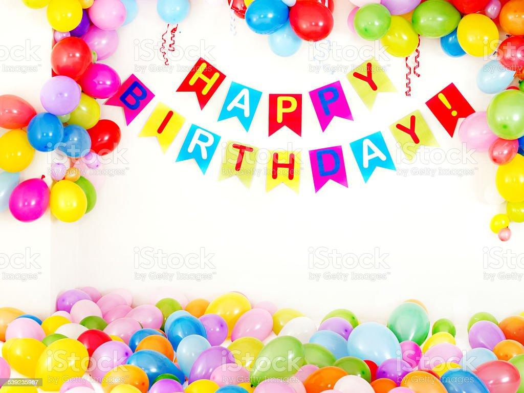 Fiesta de cumpleaños interior foto de stock libre de derechos