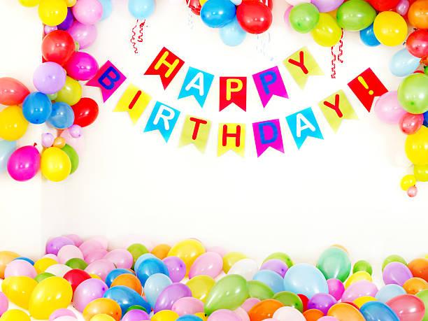 Geburtstagsparty-innen – Foto