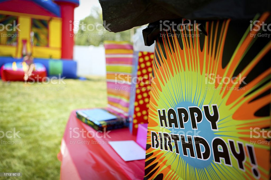 Birthday Party stock photo
