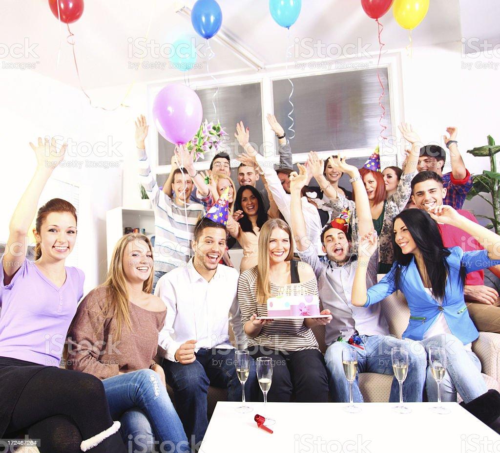 Birthday party. royalty-free stock photo