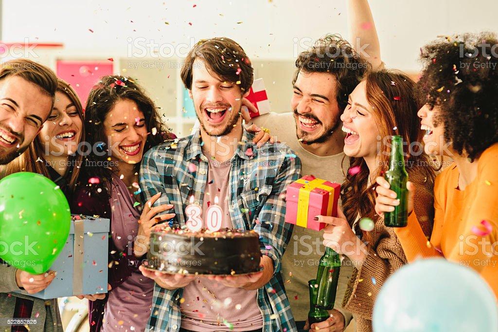 30 Birthday Party stock photo