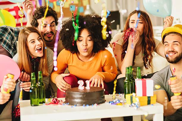 Birthday Party stock photo