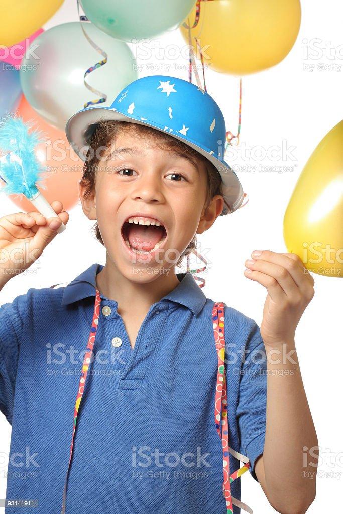 Geburtstagsfeier Party Lizenzfreies stock-foto