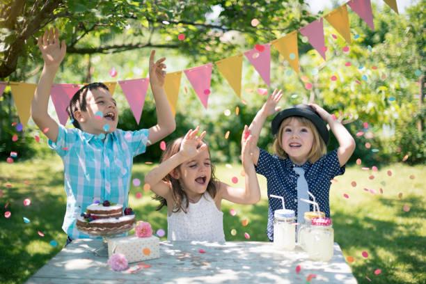 Cтоковое фото Birthday party
