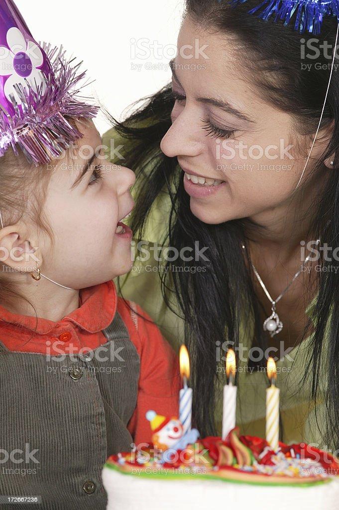 birthday party series royalty-free stock photo