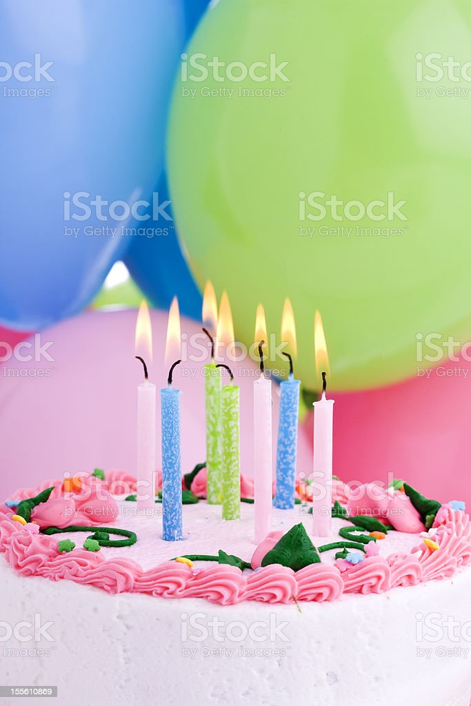 Birthday (XXL) stock photo