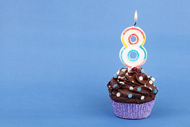 birthday - number 8 stock pictures, royalty-free photos & images