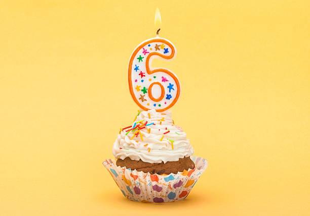 birthday - 6 7 jaar stockfoto's en -beelden