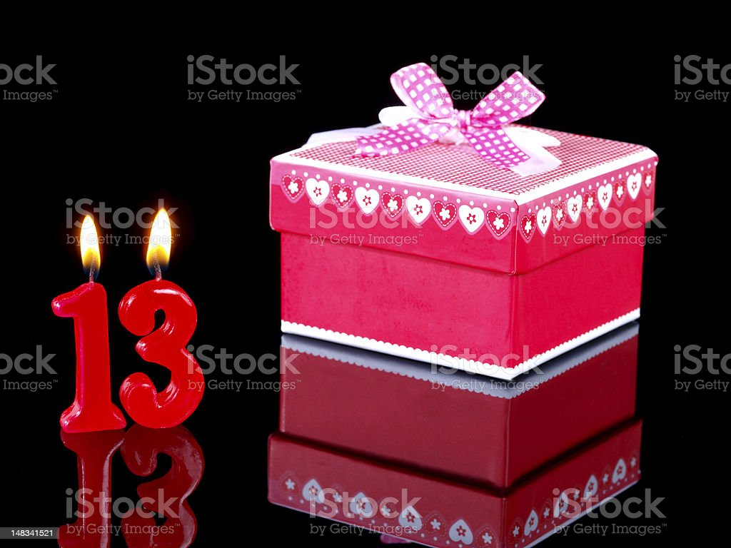 Birthday Present royalty-free stock photo