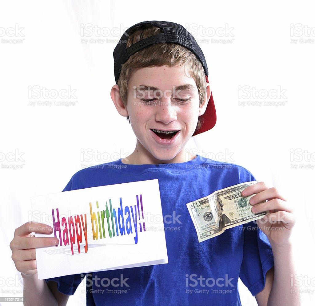 Birthday Surprise royalty-free stock photo