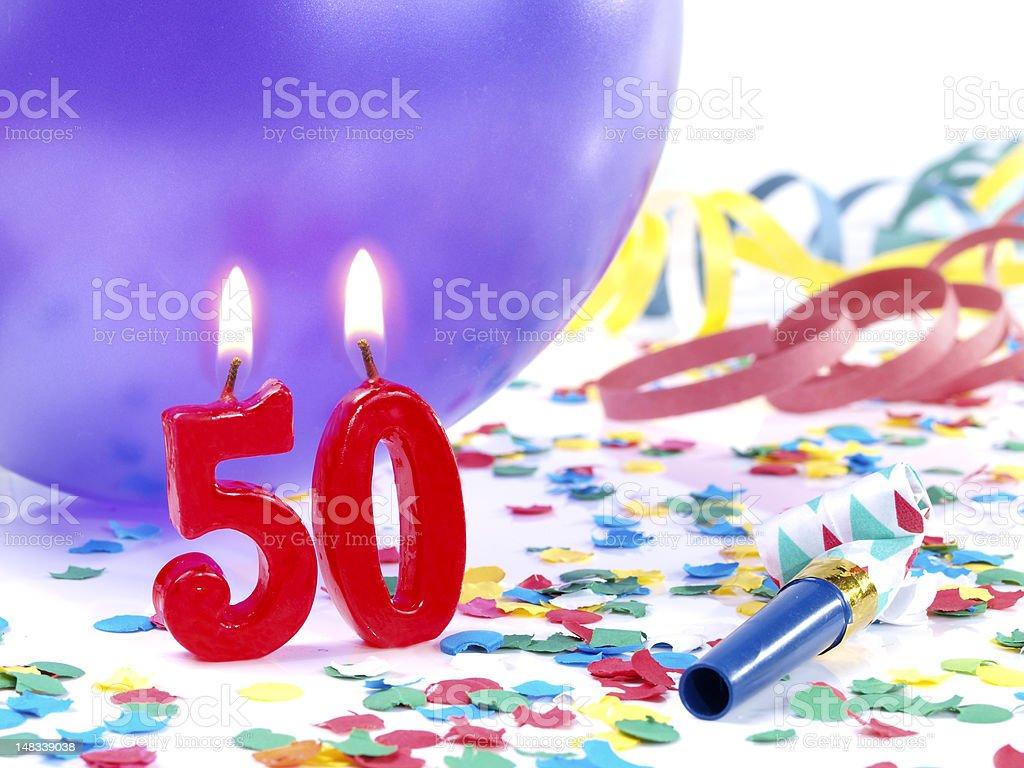 Geburtstag-Jubiläum Nr. 50. – Foto
