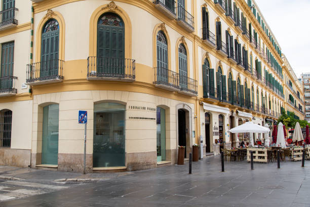 Birthplace of Pablo Picasso in Malaga, Spain stock photo