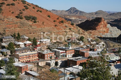 The Queen Mine in Bisbee was one of the biggest producing copper mines of the 20th Century. Still operates as a mine. Also has guided tours into the depths. Bisbee is a thriving tourist and retirement town situated in the SE corner of Arizona.