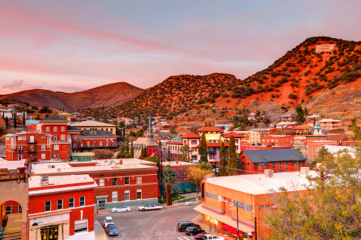 Bisbee is a city and the county seat of Cochise County in southeastern Arizona, United States. It is 92 miles southeast of Tucson