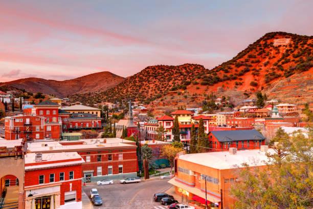 Bisbee, Arizona stock photo