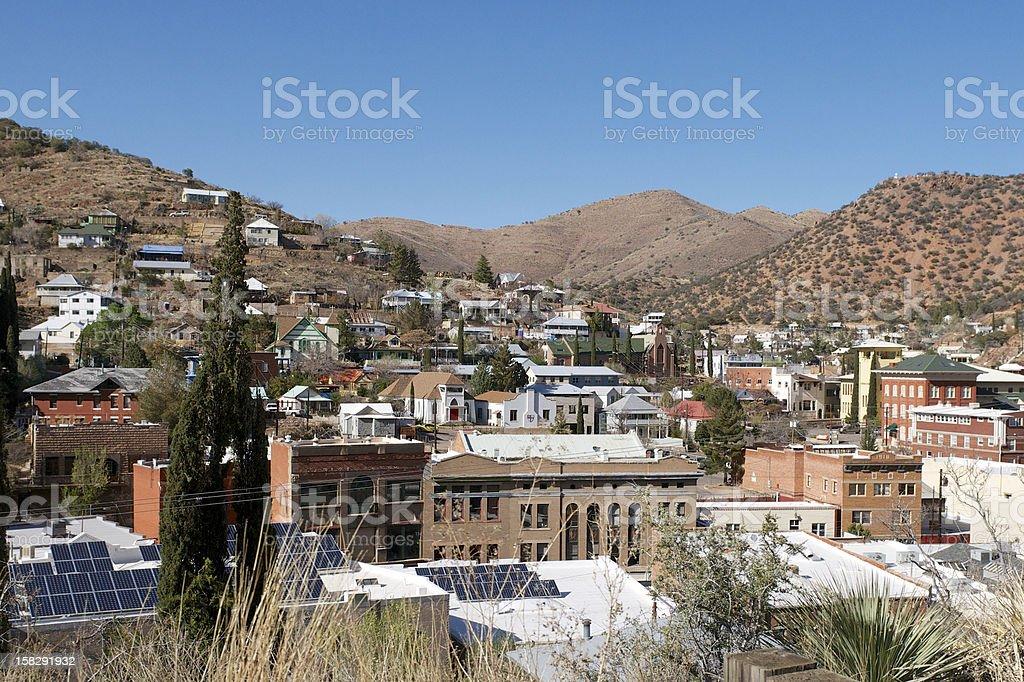 Bisbee Arizona stock photo