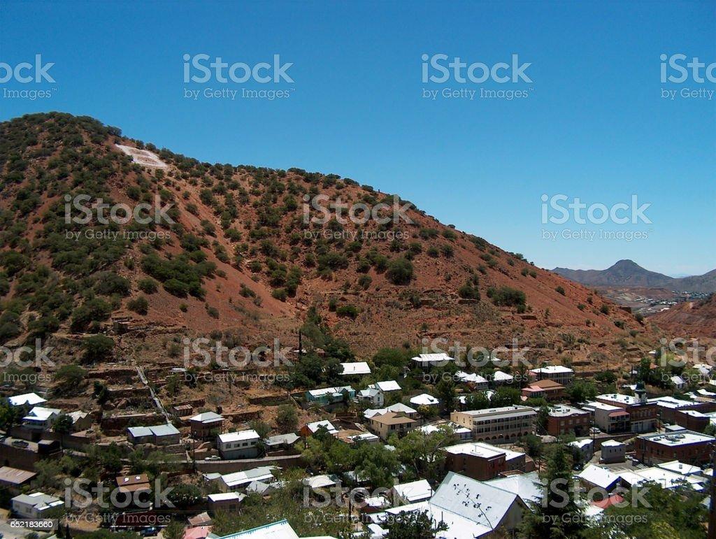 Bisbee, Arizona - Queen of the Copper Camps stock photo