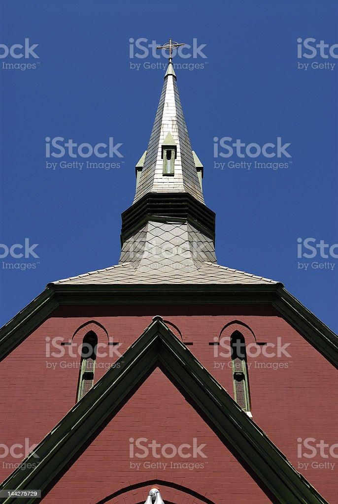 bisbee church stock photo