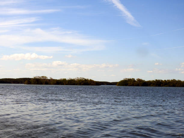 Biscayne Bay - Biscayne National Park - Florida stock photo