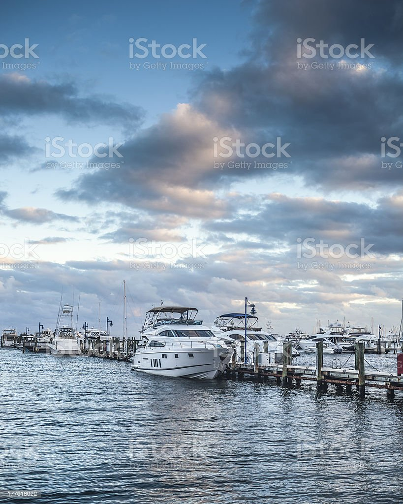 Biscayne Bay royalty-free stock photo
