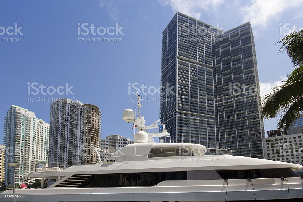 Biscayne Bay royalty-free stock photo
