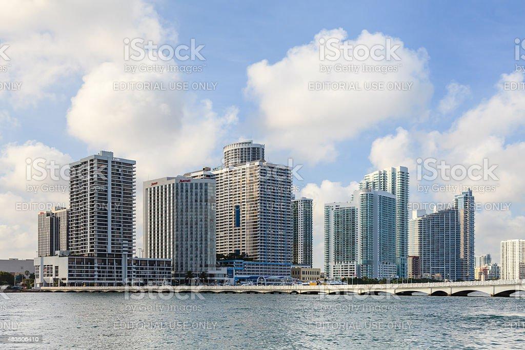 Biscayne Bay stock photo