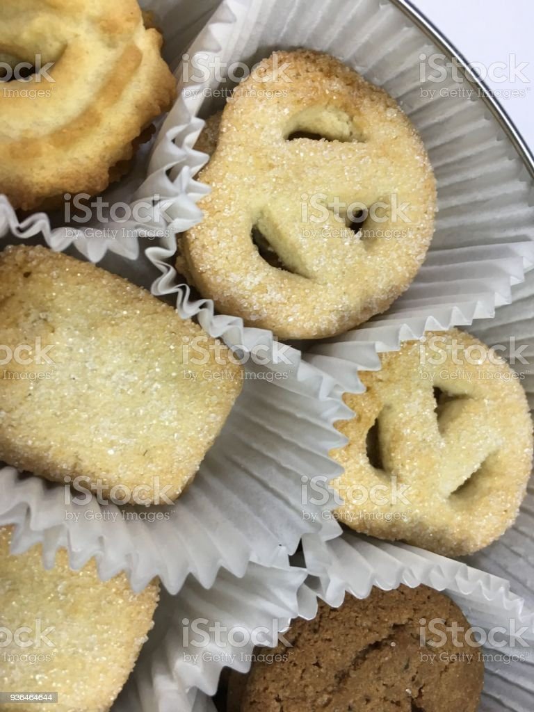 biscuit background unit isolate stock photo