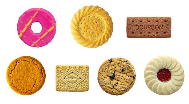 biscuit auswahl - ingwermarmelade stock-fotos und bilder