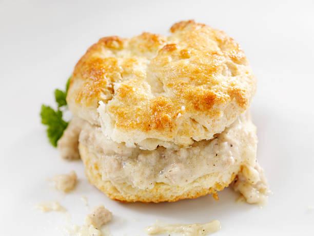"""""""biscuits and gravy"""" - scones backen stock-fotos und bilder"""