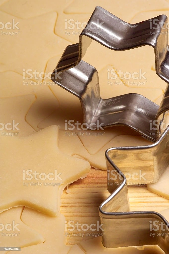 biscuits dough stock photo