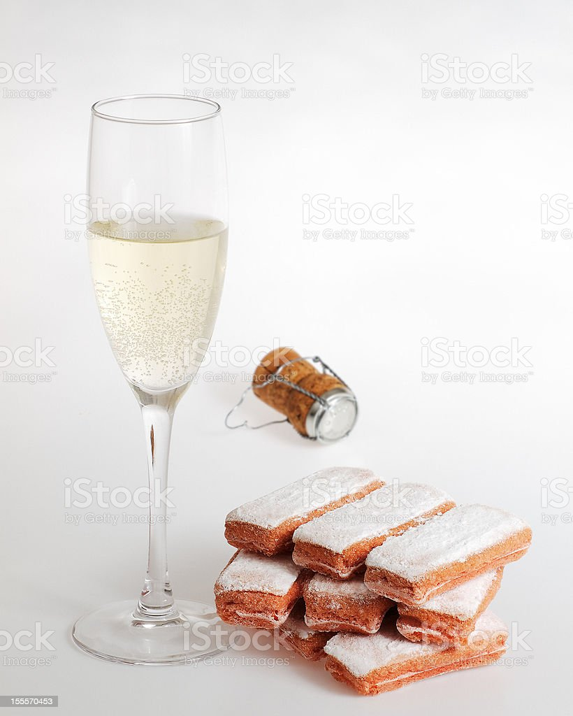 Biscuits of Reims. royalty-free stock photo