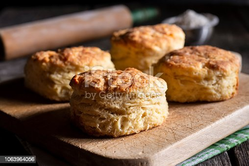 Homemade Southern Buttermilk Biscuits
