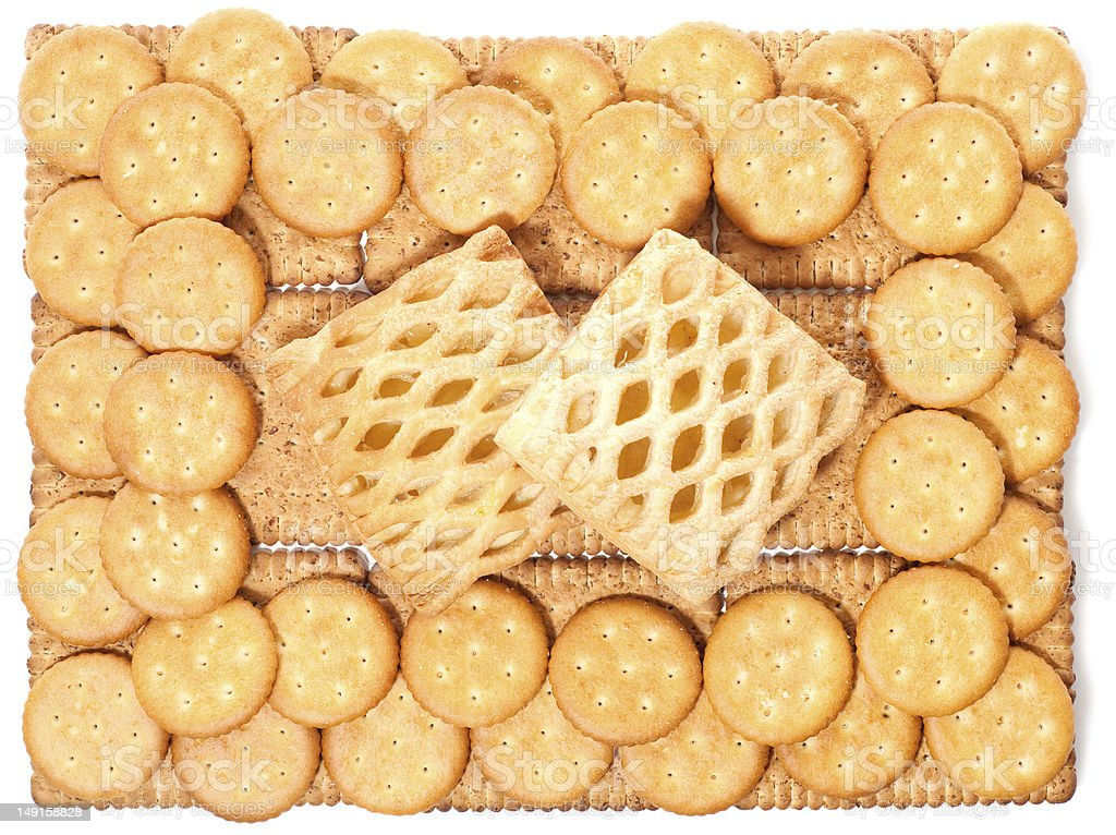 biscuits (background) royalty-free stock photo