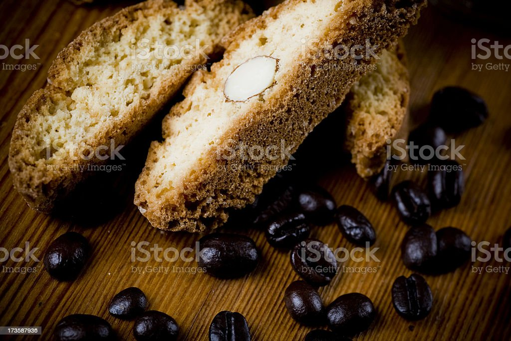 Biscotti royalty-free stock photo