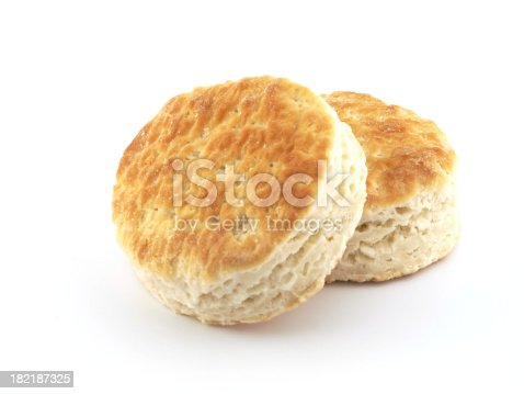 Biscuits isolated on white .View related :-