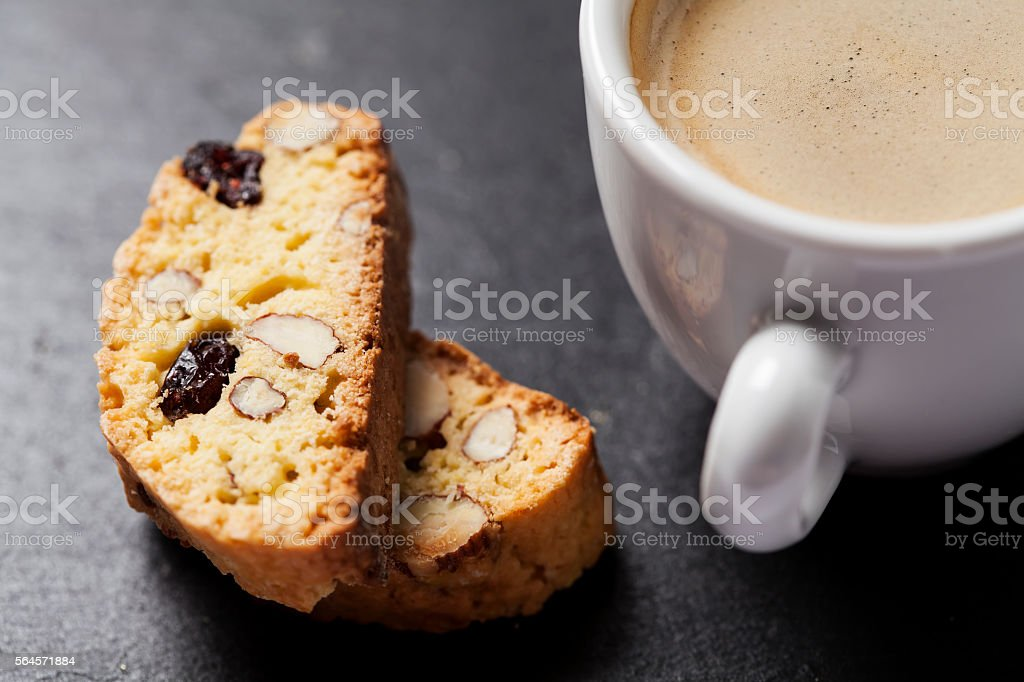 Biscotti stock photo
