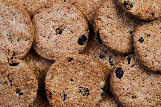 kekse-textur - low carb kekse stock-fotos und bilder