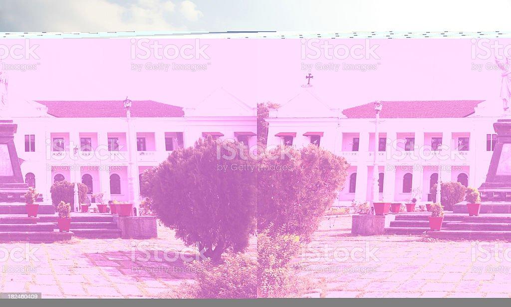 Palacio Bishop en Panjim foto de stock libre de derechos