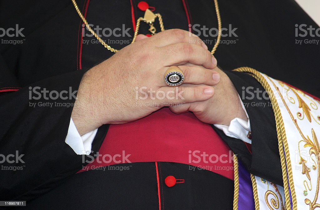 Bishop stock photo