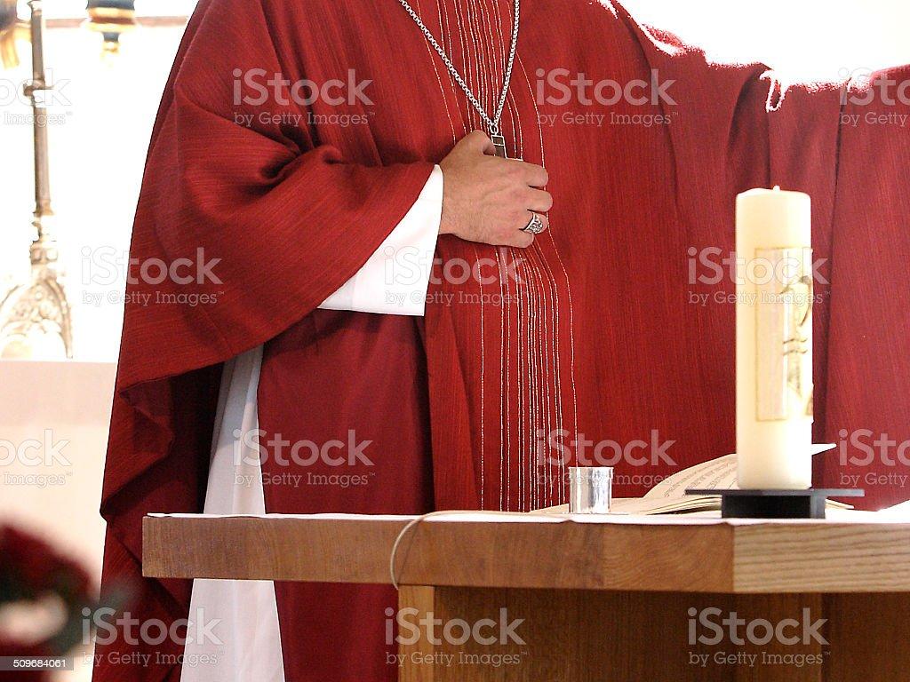 Bishop stock photo