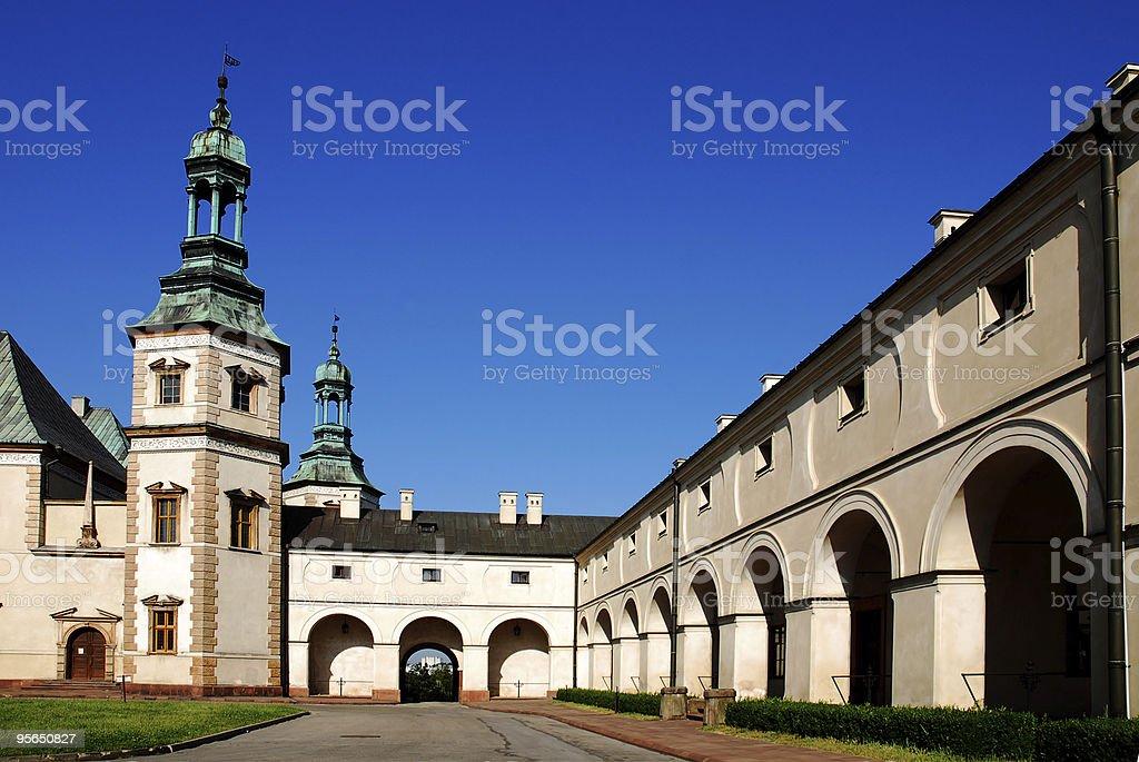 Bishop's Palace in Kielce. Polen - Lizenzfrei Architektur Stock-Foto