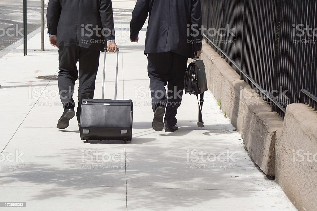 Bisness travelers stock photo
