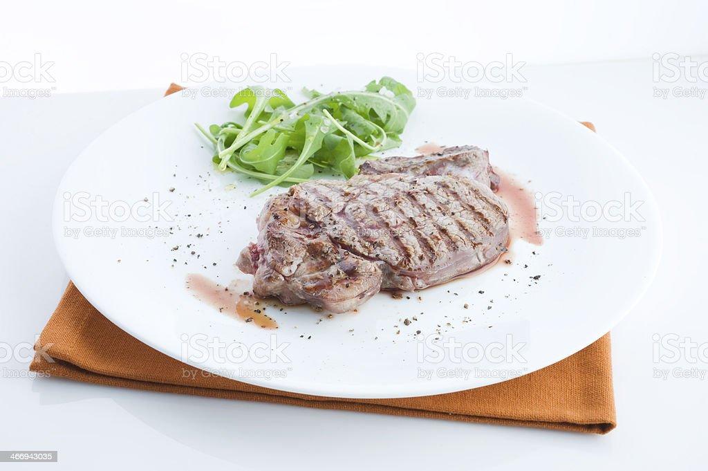Bistecca ai ferri royalty-free stock photo