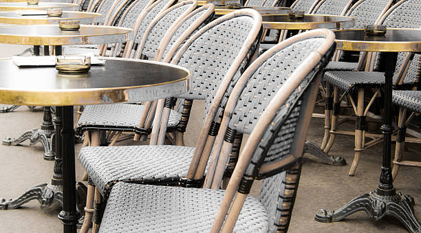 Super Bistro Chairs And Outdoor Cafe Tables Paris France Stock Ibusinesslaw Wood Chair Design Ideas Ibusinesslaworg