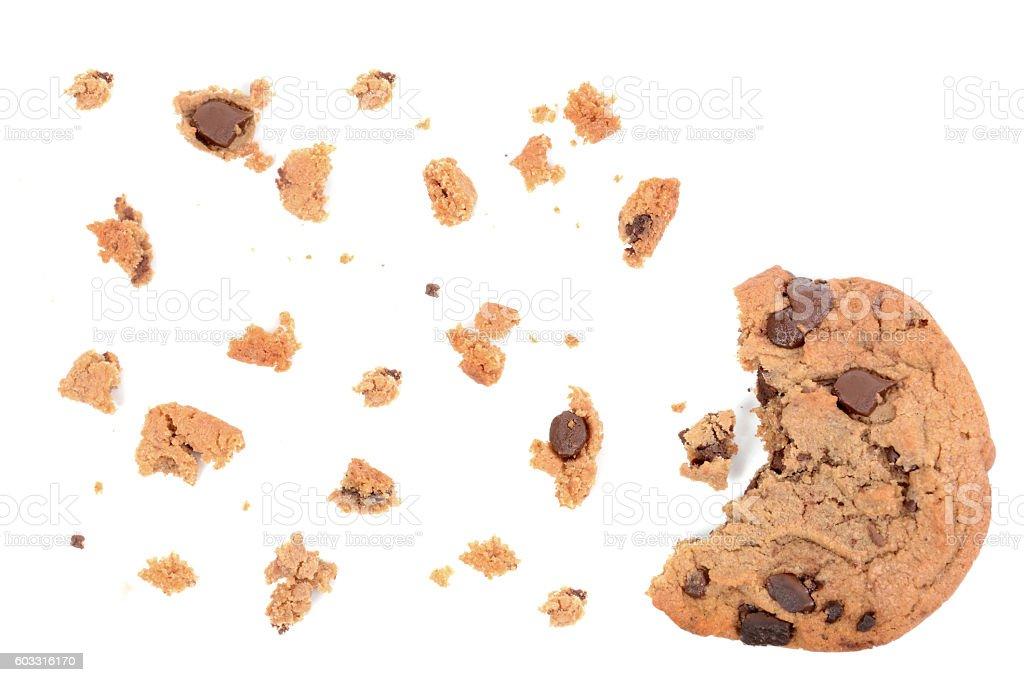 Bit of Cookie stock photo