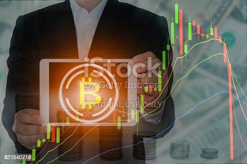 istock Bitcoin and Blockchain concept 821540718