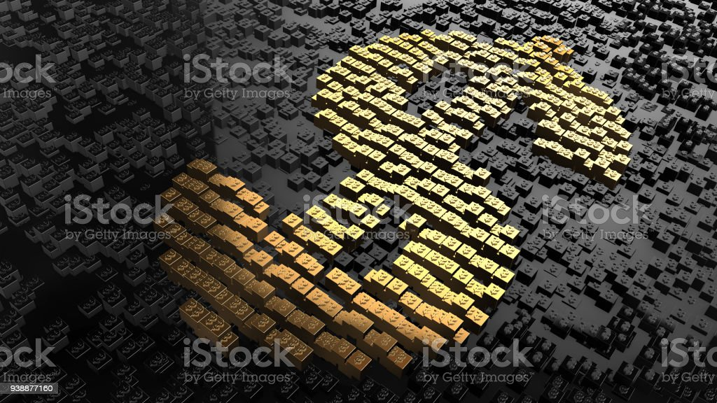 Bitcoin blockchain crypto currency digital encryption network money exchange stock photo
