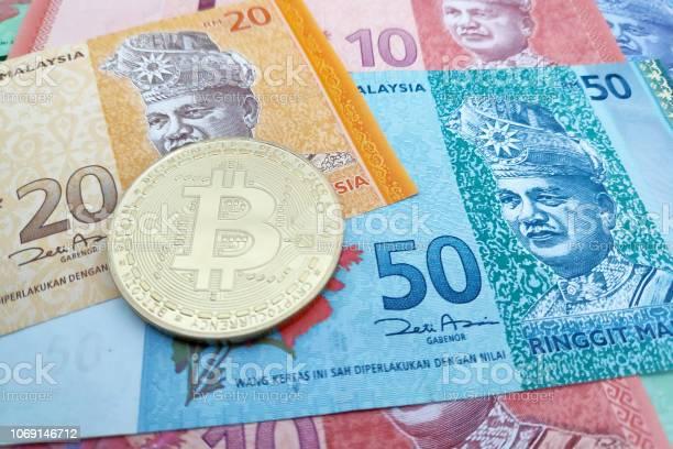 Bitcoin (BTC) e Ringgit malese (MYR) calcolatore di conversione di tasso di cambio di valuta