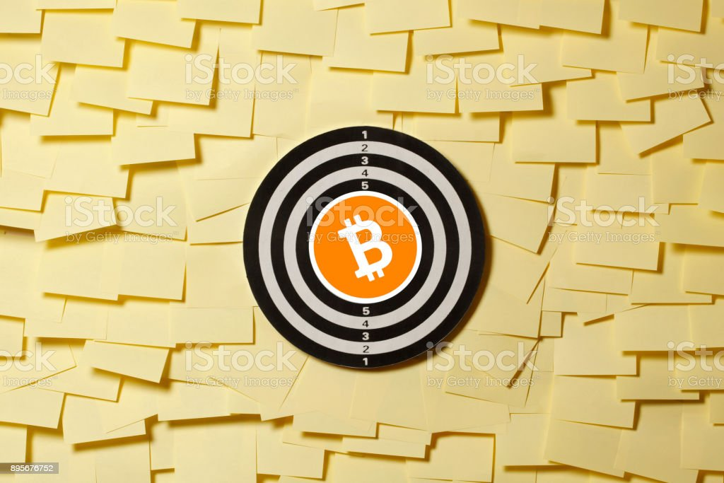 Bitcoin Concept stock photo