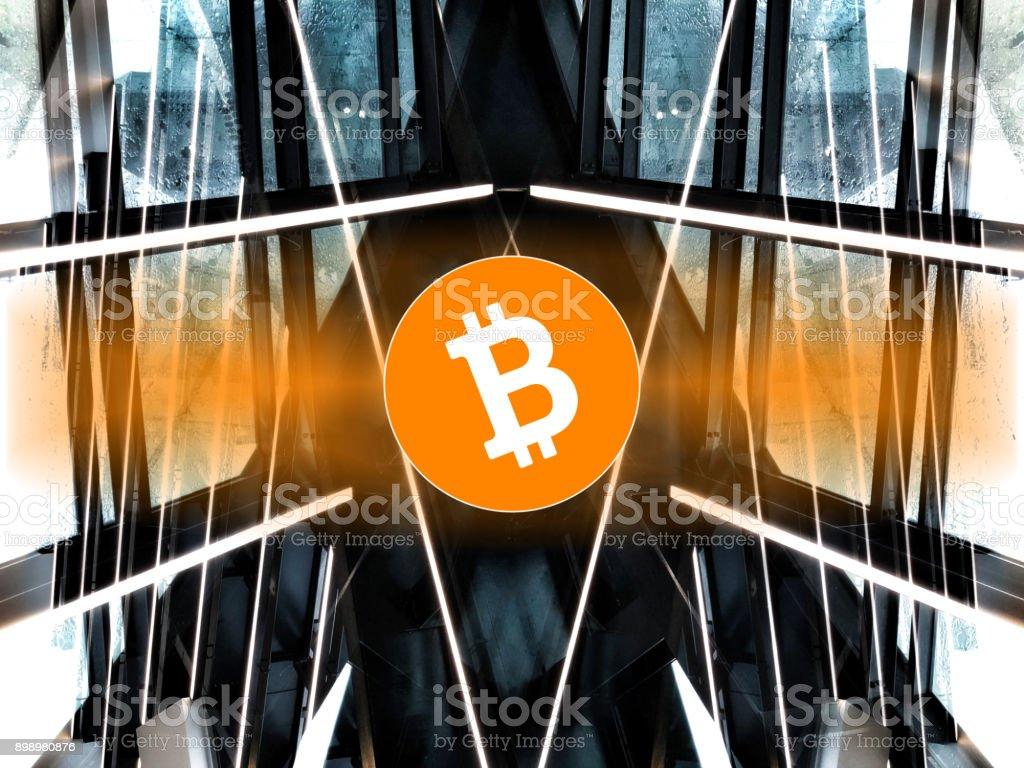 Bitcoin Concept stock photo